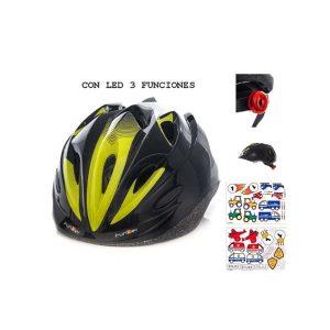 Casco Ciclismo Infantil Funkier Negro