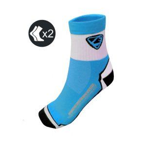 Calcetines Ciclismo Entretiempo Azul