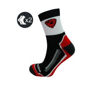 Calcetines Ciclismo Thermolite Rojos