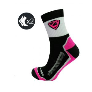 Calcetines Ciclismo Thermolite Rosas