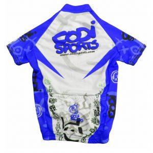 Maillot infantil azul Codisports