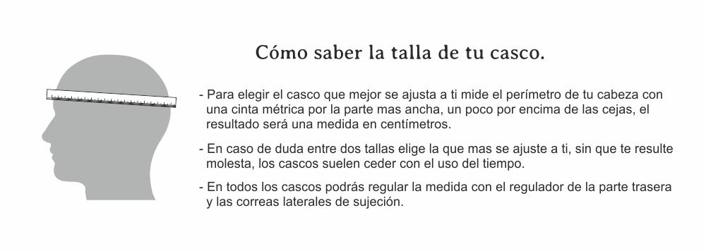 Tallas Casco Extreme